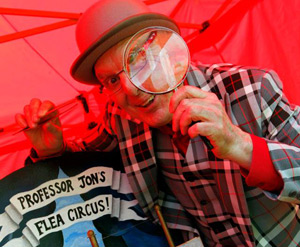 Professor Jon's Flea Circus at Sheffield May Fayre